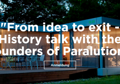 From idea to exit – History talk with the founders of Paralution