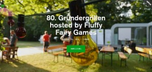 80. Gründergrillen hosted by Fluffy Fairy Games