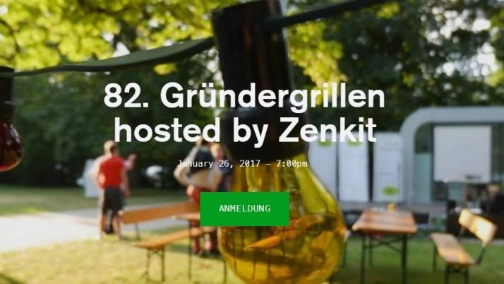 82. Gründergrillen hosted by Zenkit
