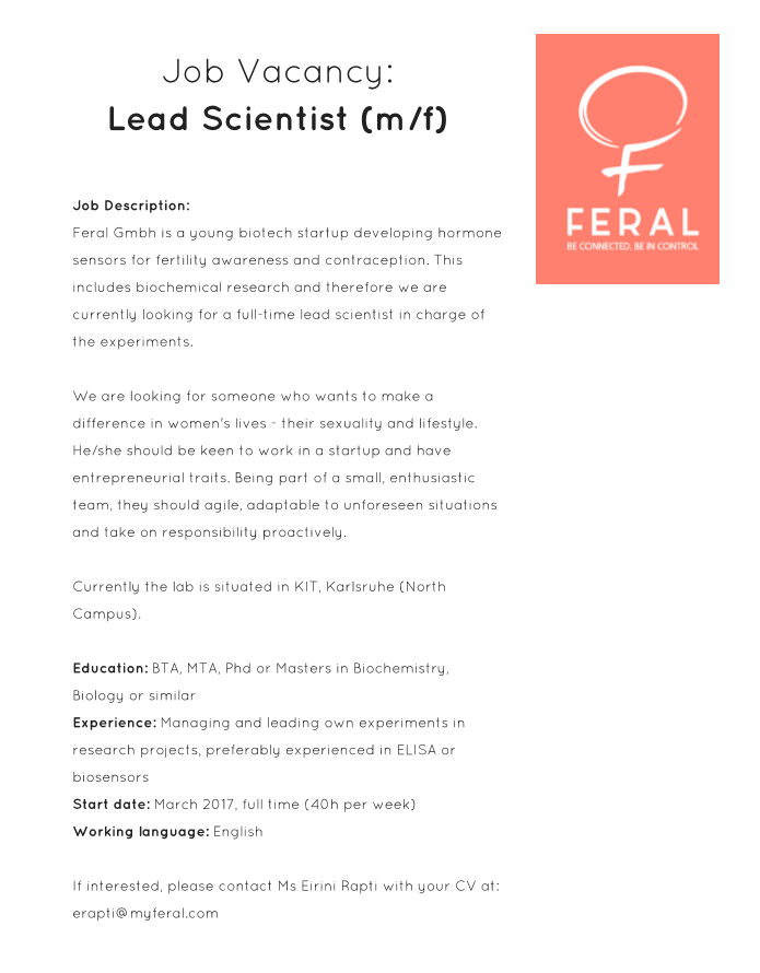 Lead scientist