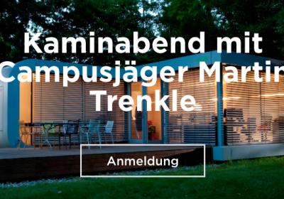Kaminabend mit Campusjäger Martin Trenkle